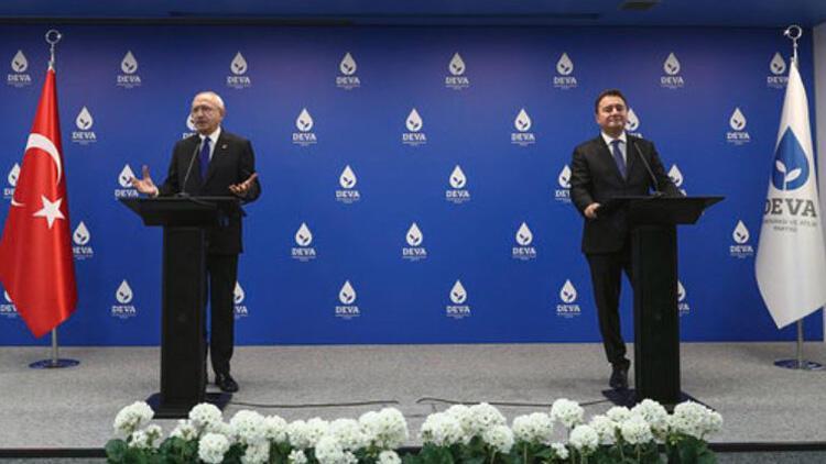 Babacan'ı ziyaret eden Kılıçdaroğlu: Herhangi bir ittifak görüşmesi olmadı