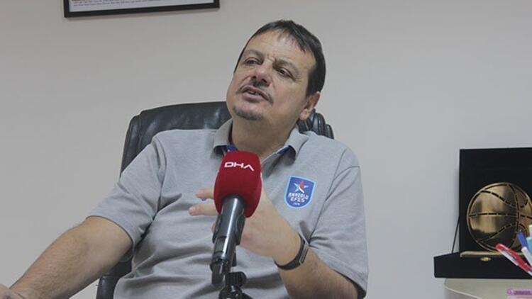 """Ergin Ataman: """"Benim Fenerbahçe camiasına, takımına ve taraftarına büyük saygım var..."""""""