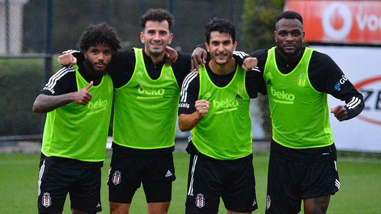 Beşiktaş, Yukatel Denizlispor maçının hazırlıklarını sürdürdü