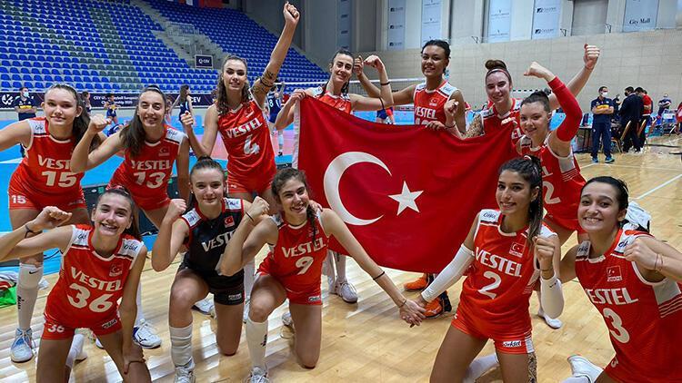 U17 Voleybol Kız Milli Takımımız, Avrupa Şampiyonası'nda finalde!