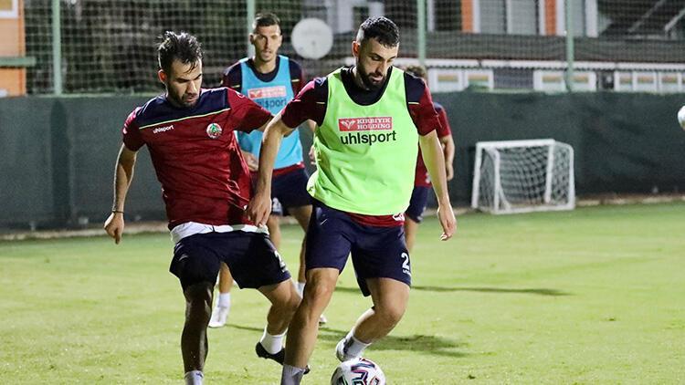 Aytemiz Alanyaspor, Galatasaray maçı hazırlıklarına başladı