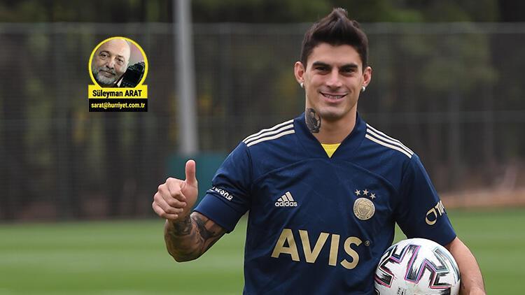 Fenerbahçe'de Diego Perotti'den transfer itirafı: 'Emre gelmemi çok istedi'