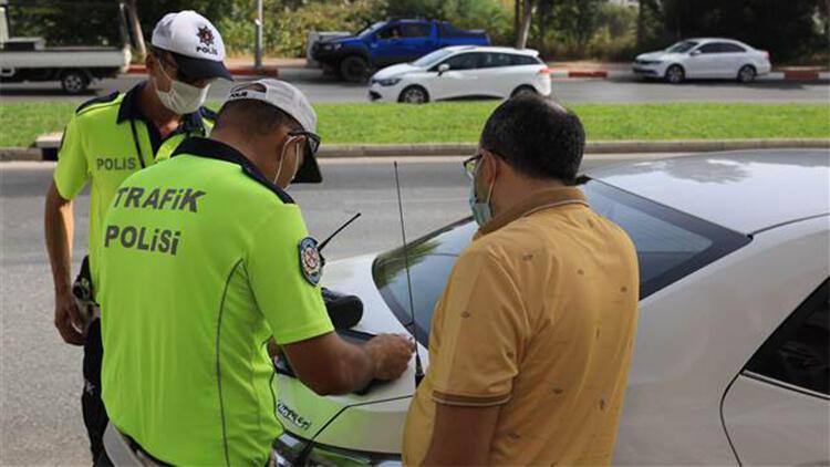 Yayaya öncelik vermeyen sürücülere ceza yağdı