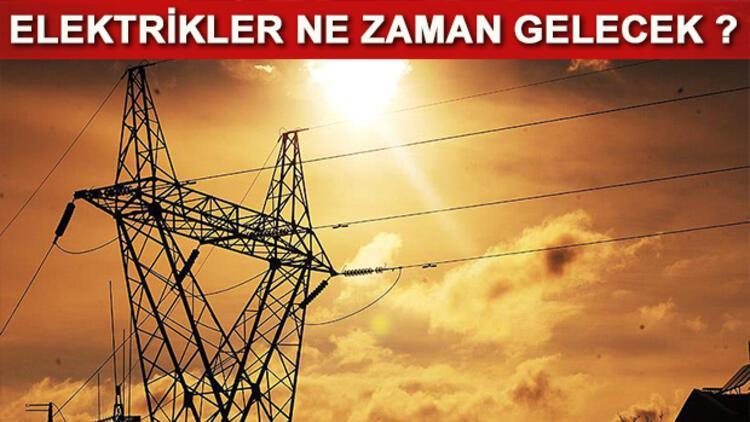 Elektrikler ne zaman gelecek? 9 Ekim 2020 elektrik kesinti programı