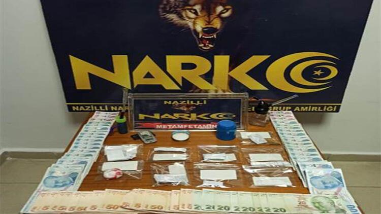 Nazilli'de uyuşturucu ticaretine 3 tutuklama