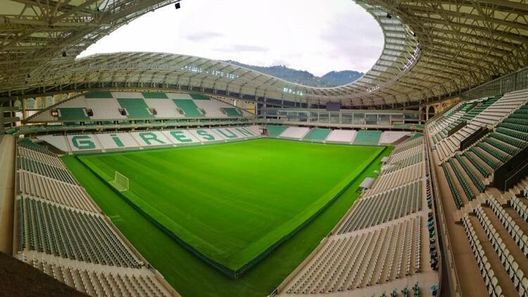 Giresunspor maçlarını Çotanak Stadı'nda oynamak istiyor!