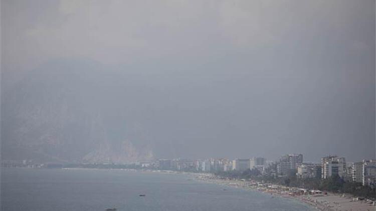 Antalya'yı nem bulutları kapladı