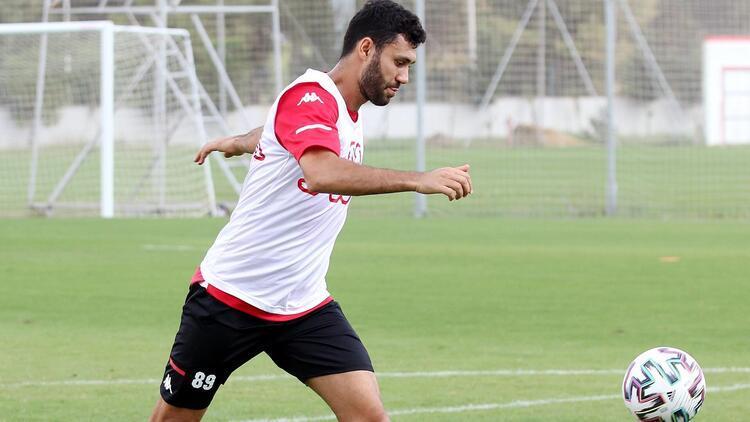 Antalyaspor'da Gaziantep FK hazırlıkları! Dar alanda pas...