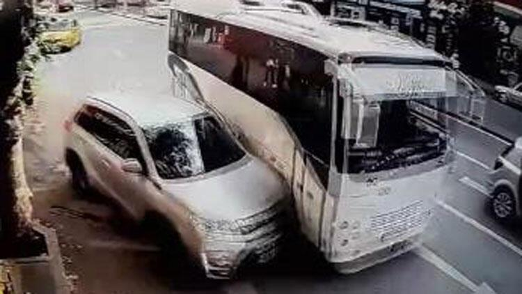 Sakarya'da akıllara durgunluk veren kaza