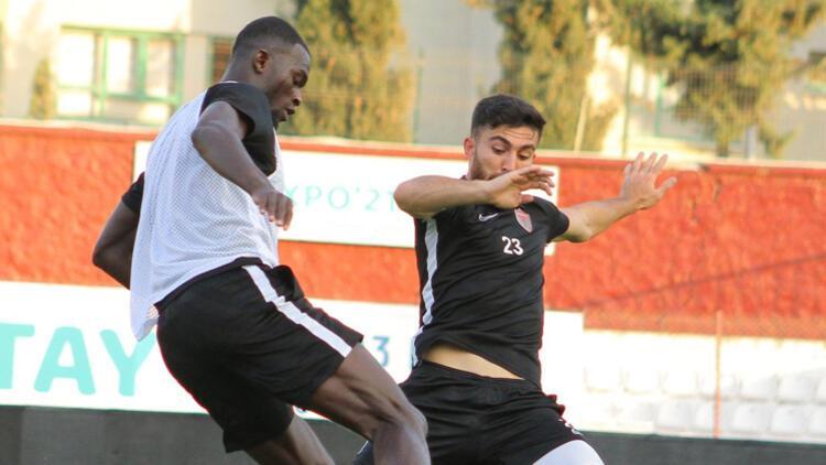 Hatayspor, Büyükşehir Belediye Erzurumspor maçının hazırlıklarını sürdürdü