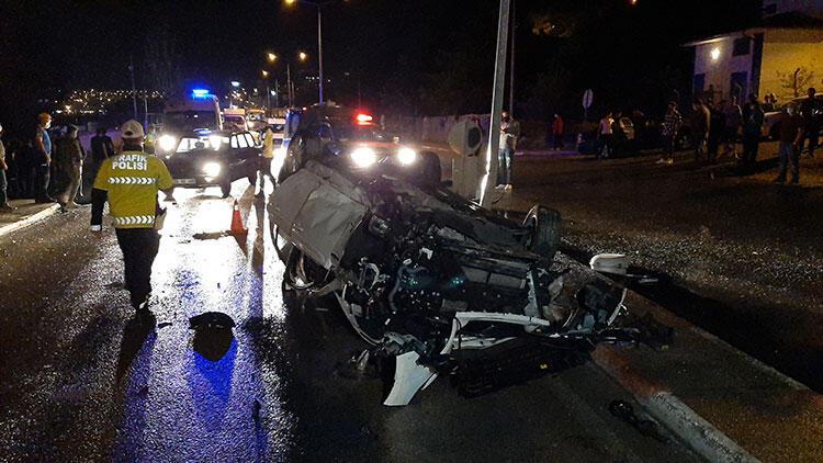 Karabük'te feci kaza! 4 yaralı