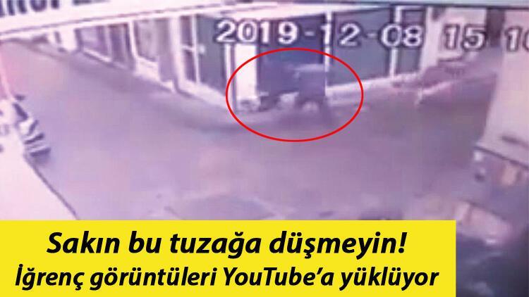Şiddet videosuyla hayvanseverlere tuzak