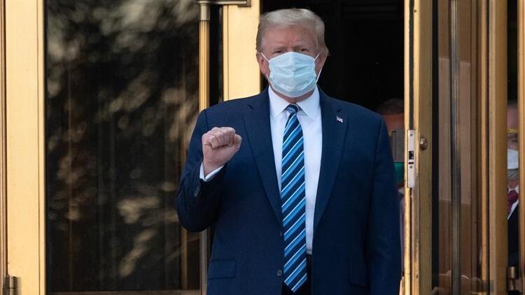Trump: Son 8 saattir hiçbir ilaç almıyorum