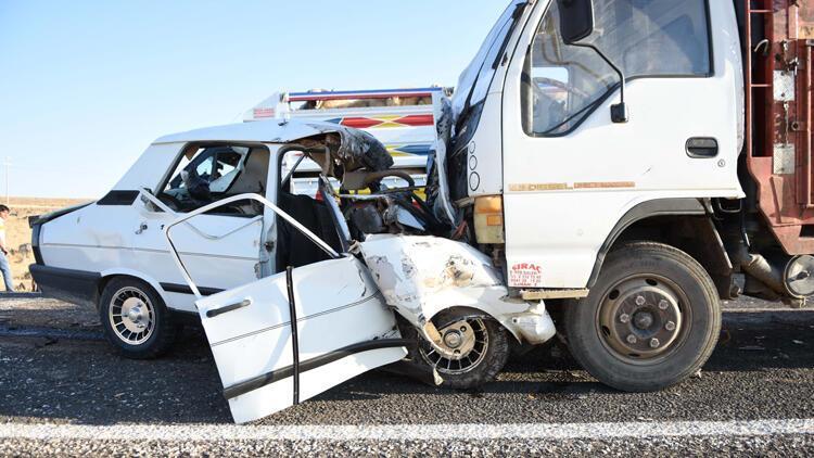 Siverek'te feci kaza: 3 ölü, 1 yaralı...