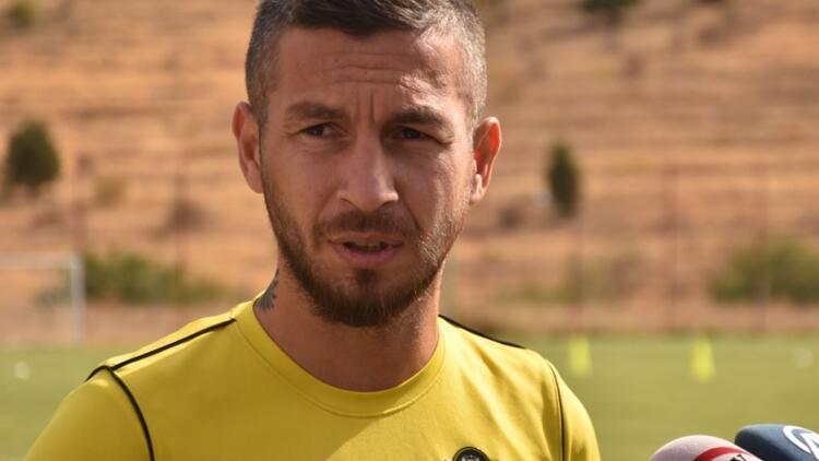 """Adem Büyük: """"Yeni Malatyaspor'da olduğum için mutluyum"""""""
