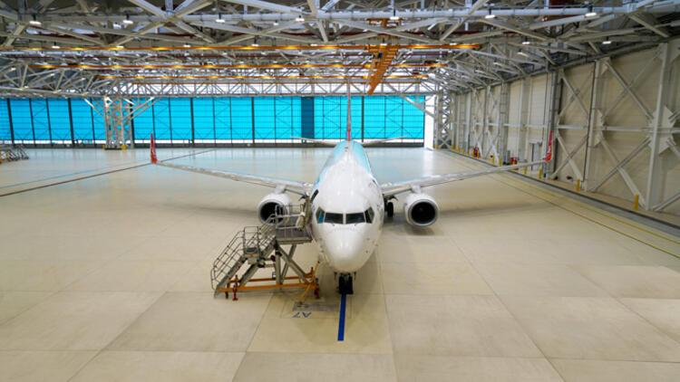 THY Türkiye'nin en büyük uçak üs bakım hangarlarının açılışını yaptı