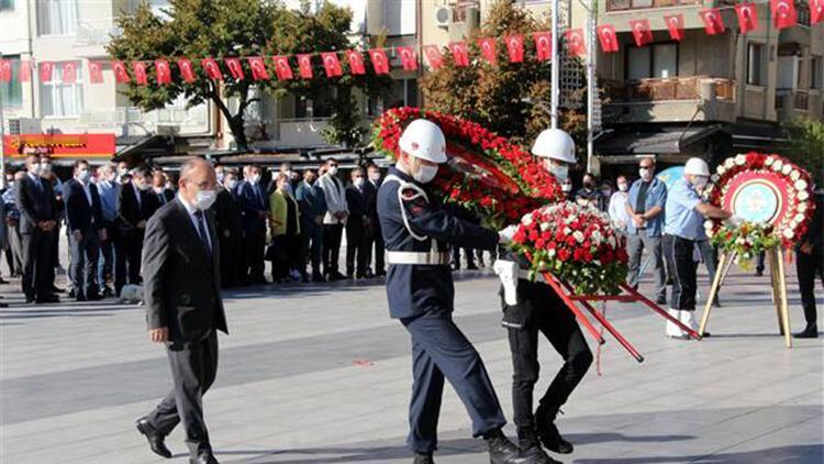 Atatürk'ün Manisa'ya gelişinin 95. yıldönümü kutlandı