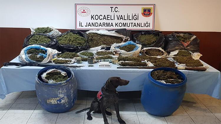 Kocaeli'de 61 kilo uyuşturucu ile yakalan 2 kişi tutuklandı