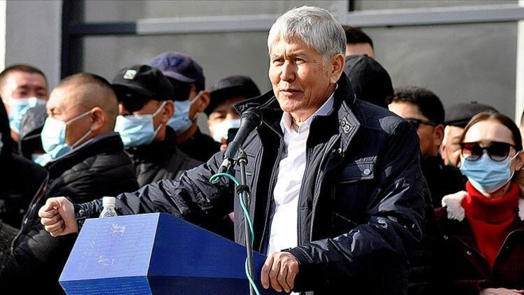 Kırgızistan'da cezaevinden çıkarılan eski Cumhurbaşkanı Atambayev ve destekçileri gözaltına alındı
