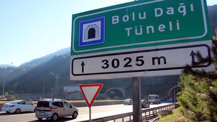 Bolu Dağı tünelinin Ankara yönü 1 ay ulaşıma kapanacak