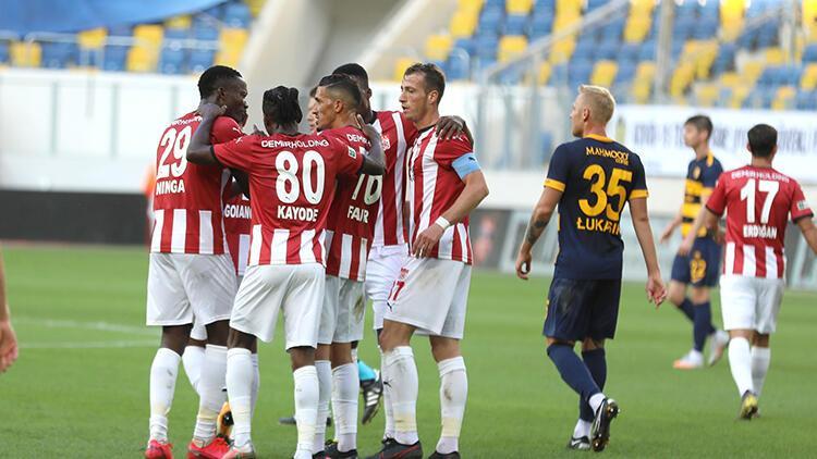 MKE Ankaragücü 0-2 Demir Grup Sivasspor