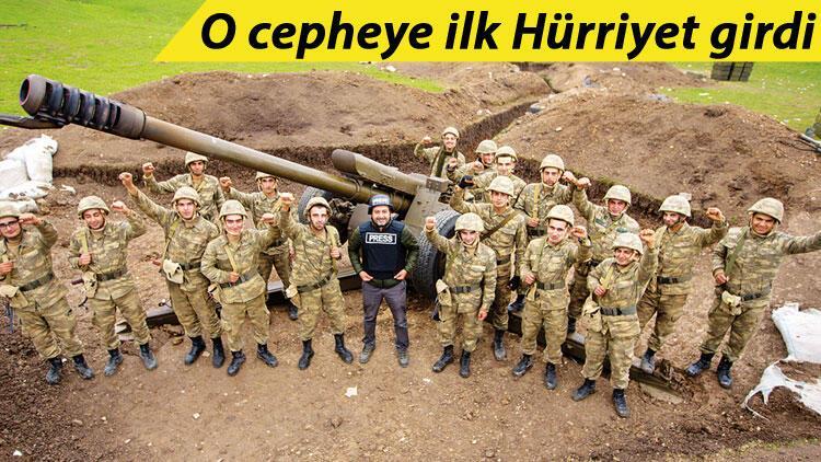 Murov Dağı'nda zafer pozu