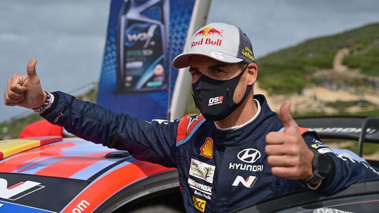 WRC İtalya Rallisi'nde zafer Dani Sordo'nun