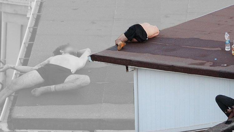 Son dakika haberler... Yürekler ağza geldi... 4 katlı binanın çatısında sızdı!