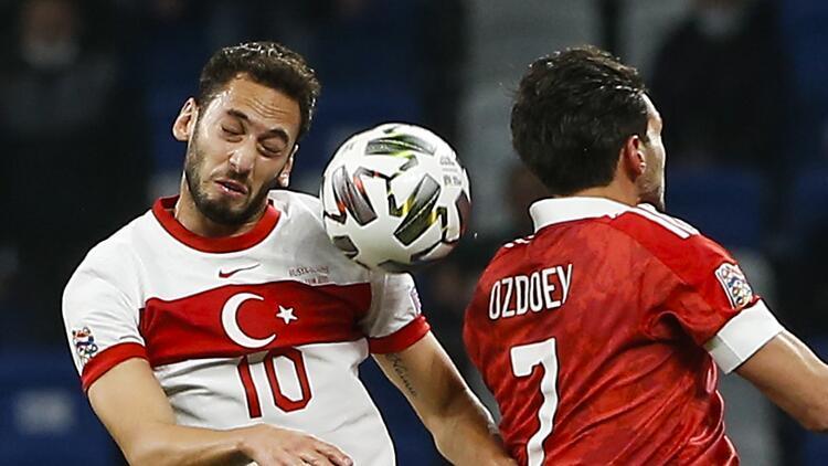 Son Dakika Haberi | Hakan Çalhanoğlu'ndan Rusya maçı yorumu! 'Pes etmedik'