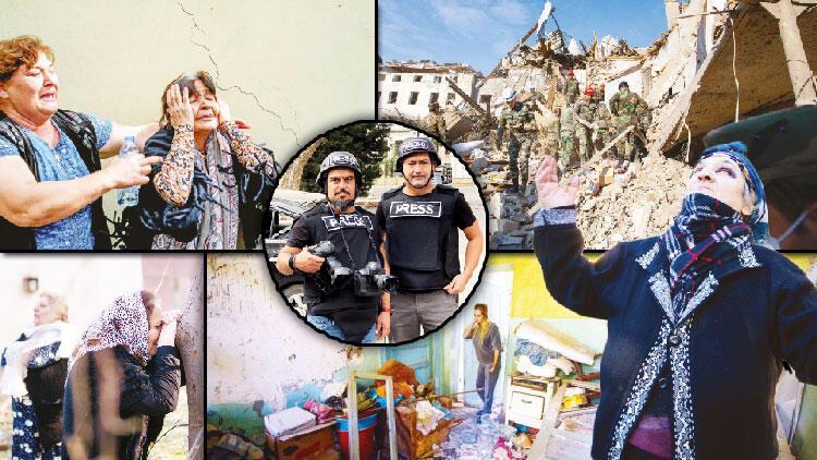 Son dakika haberler: Hürriyet Gence'de... Ateşkesten 14 saat sonra Ermenistan sivilleri uykuda vurdu