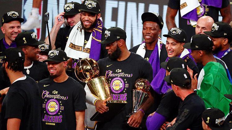 Son Dakika   NBA'de şampiyon Los Angeles Lakers!