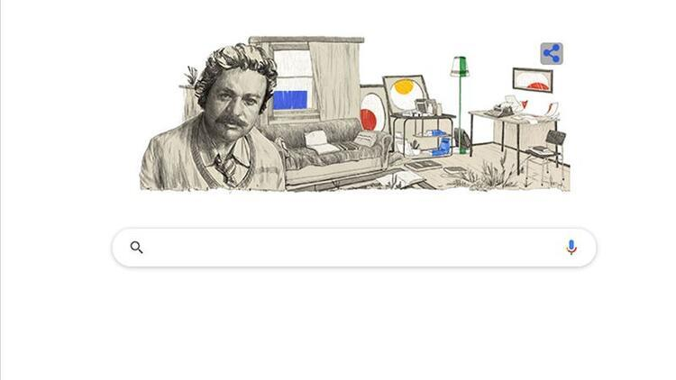 Google'ın ana sayfasında Oğuz Atay sürprizi