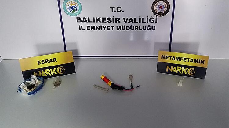 Balıkesir'de uyuşturucu operasyonunda 8 kişi yakalandı