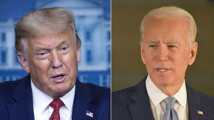 Biden bağışlarda Trump'ı geride bıraktı