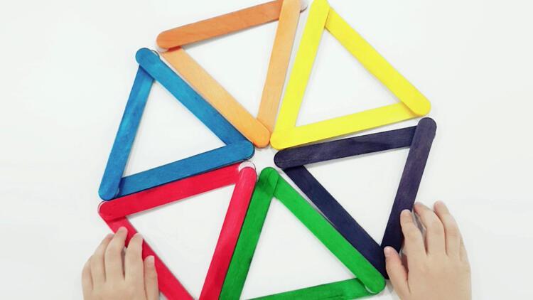 Bol kazanımlı rengarenk aktivite