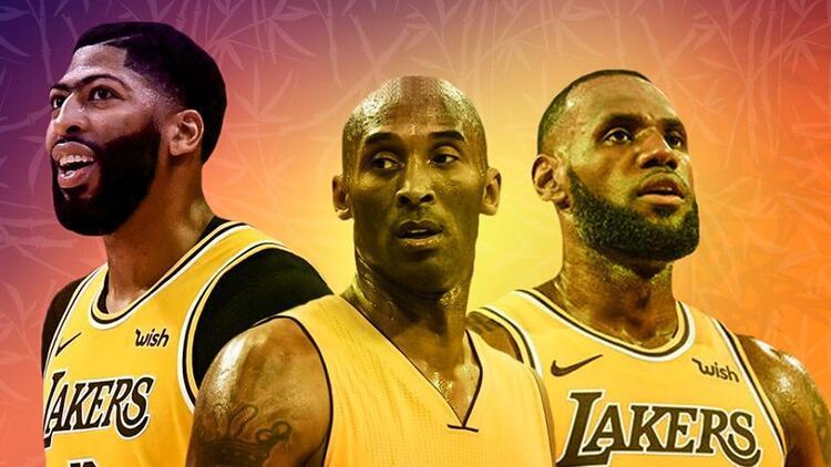 Los Angeles Lakers küllerinden doğdu! Şampiyonluk Kobe'ye ithaf edildi...