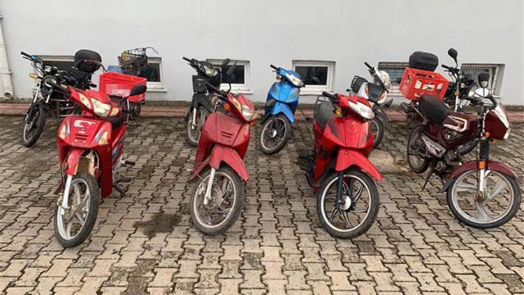 Edirne'de 26 motosikletliye 32 bin TL ceza
