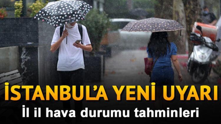 MGM 13 Ekim 2020 hava durumu tahminleri - Hava bugün nasıl olacak? İstanbul'a yağmur uyarısı!