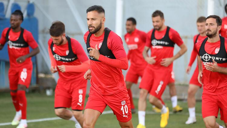 Sivasspor'da Kayserispor maçı hazırlıkları sürüyor