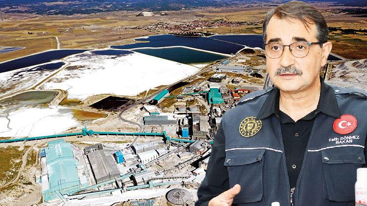 Bakan Dönmez, Türkiye'de ilk kez üretilecek lityumun pilot tesisinde konuştu: Hedef 500 tonluk üretim