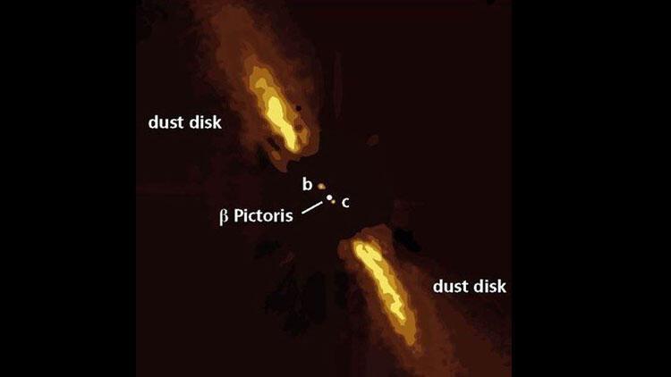 63 ışık yılı uzaklıktaki dış gezegenin fotoğrafı paylaşıldı!