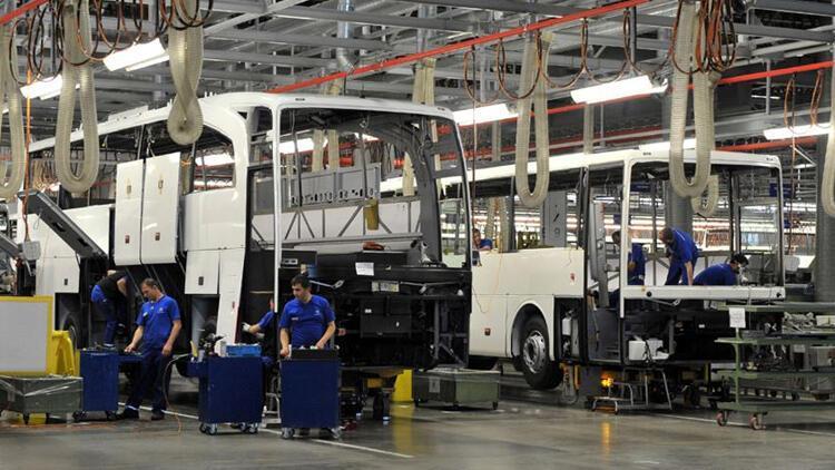 Otobüs, minibüs ve midibüs ihracatından sevindiren rakam