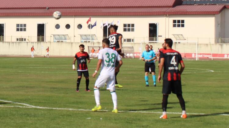 Ziraat Türkiye Kupası 1. Ön Eleme Turu: Çarşambaspor 0-1 Yozgatspor 1959 FK
