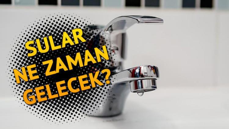 Sular ne zaman gelecek? İSKİ 13 Ekim su kesinti listesi!