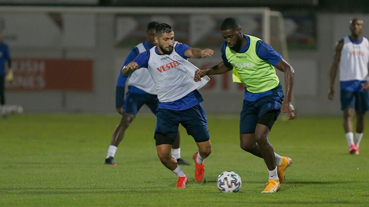Trabzonspor Medipol Başakşehir maçı hazırlıklarına başladı