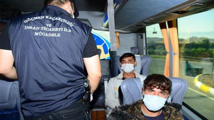 Kocaeli'de 7 kaçak göçmen yakalandı