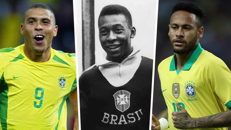 Neymar, Ronaldo'yu geçti! Pele'ye bir adım daha yaklaştı...