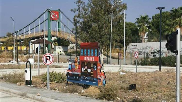 Çocuk trafik eğitim parkı çalışmaları sürüyor