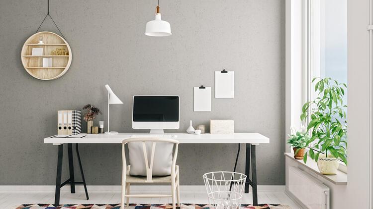 Evinizde kendi ofisinizi oluşturmaya ne dersiniz? İşte öneriler...