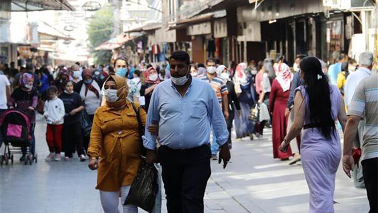 Gaziantep'te sosyal mesafe ve maske unutuldu